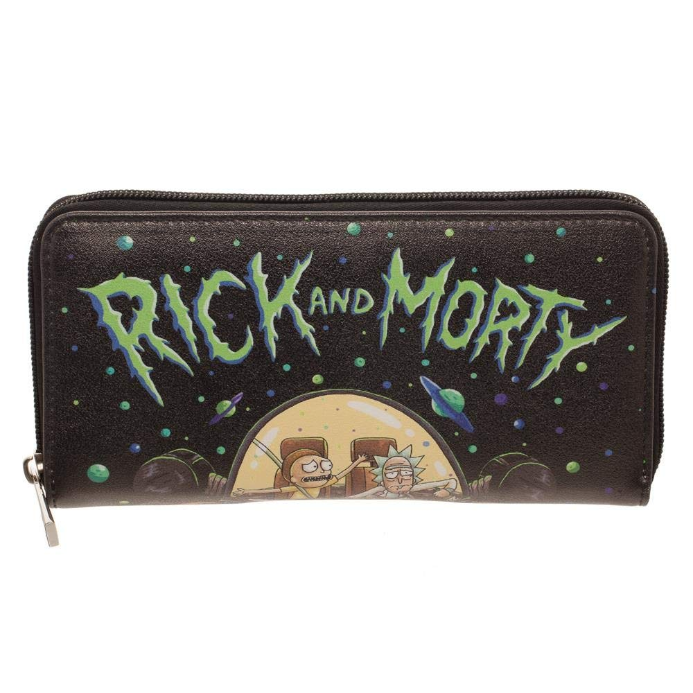 Rick And Morty Zip Around Wallet GW6DIDRIC