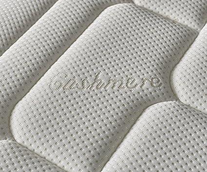 Zeng - Colchón Visco Luxury Cashmere Confort 150x200x27 cm: Amazon.es: Hogar