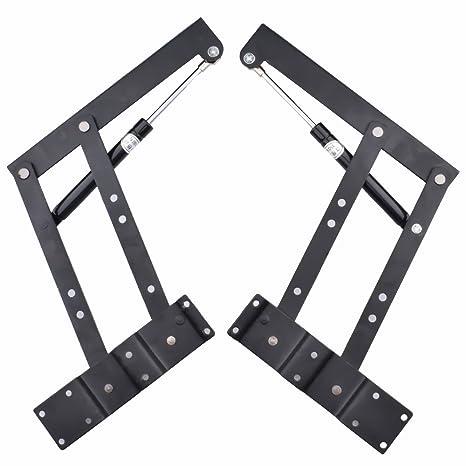 Meaor 1 Pair Folding Coffee Table Desk Lifting Frame Mechanism