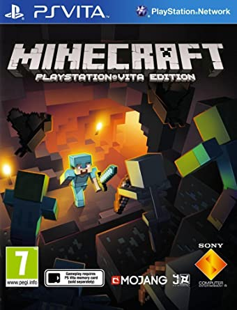 Image result for minecraft PS Vita