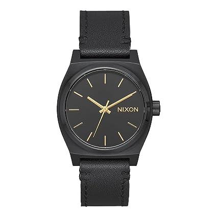 Nixon Reloj Analogico para Mujer de Cuarzo con Correa en Cuero A1172-001-00