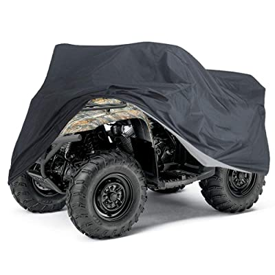 Tokept ATV Cover,Heavy Duty Waterproof 103 Inches,All Season XXXL size Black Waterproof Outdoor UV Protection for Kawasaki Yamaha Suzuki Honda Polarisand more: Automotive