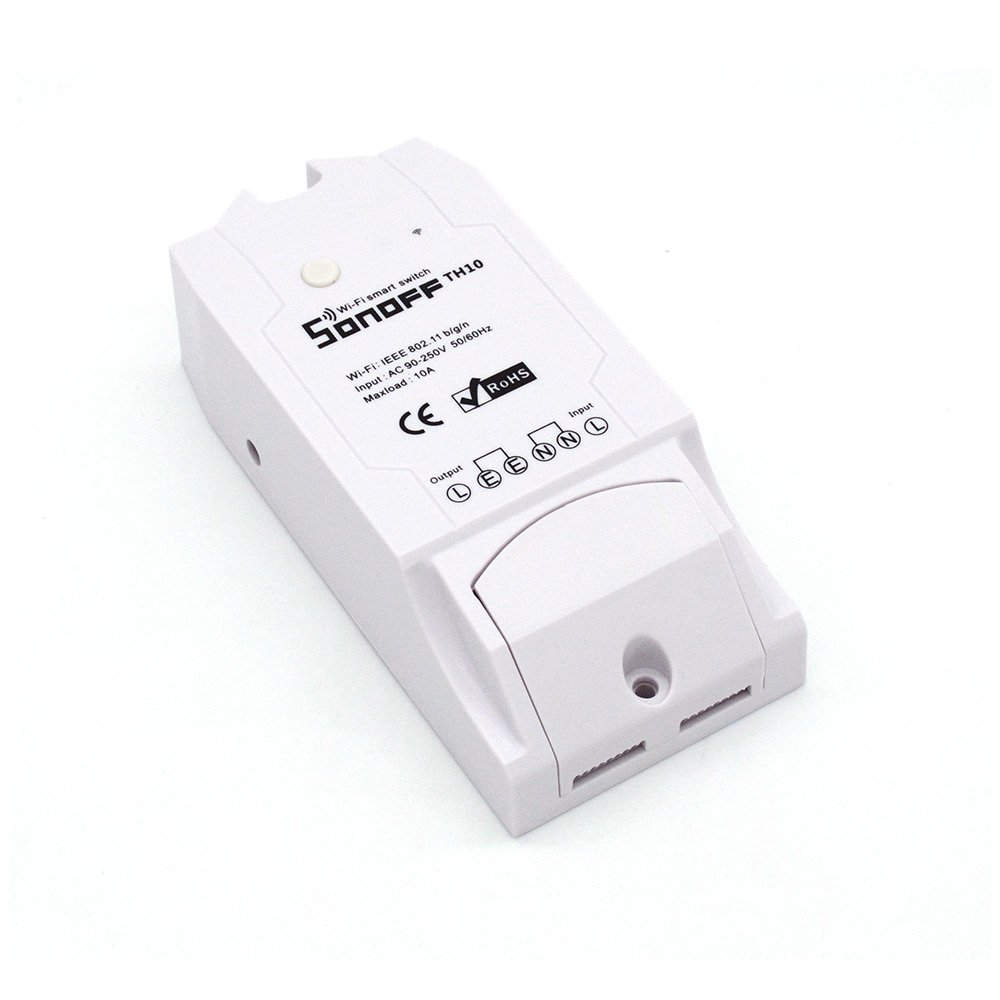 Sonoff Th10 Temperature And Humidity Measurement Wlan Switch Relay Smart Temp Wiring Diagram For Home Tv