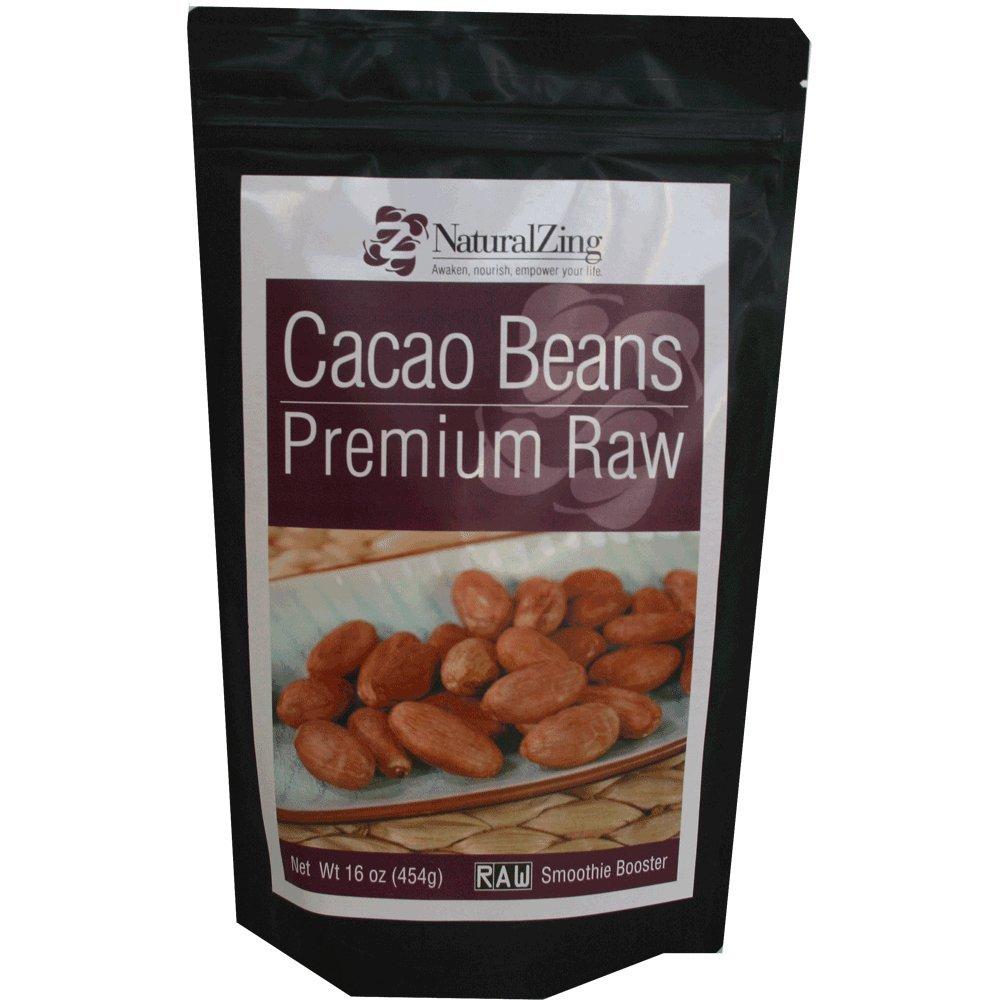 Raw Organic Cacao Beans-16 ozs.
