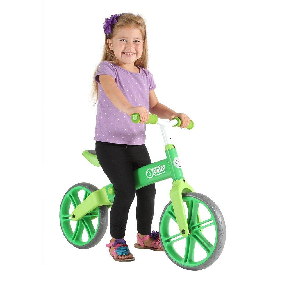 Yvolution Y Velo Senior Green Balance Bike, One Size