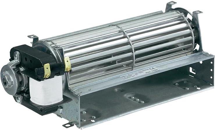 Ventilador tangenziale 30 cm + Motor SX para estufas pellets 230 V ...