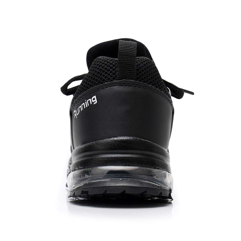QAUPPE Women s Memory Foam Air Running Shoes Comfortable Cross Trainer Gym Sports Flyknit Tennis Fashion Sneakers US5.5-10 B M