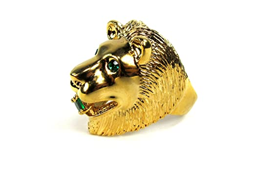 Amazon Elvis Presley Lion Head Ring Clothing
