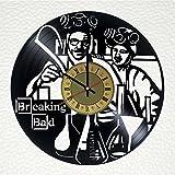 Breaking Bad Vinyl Wall Clock Unique Gifts Living Room Home Decor
