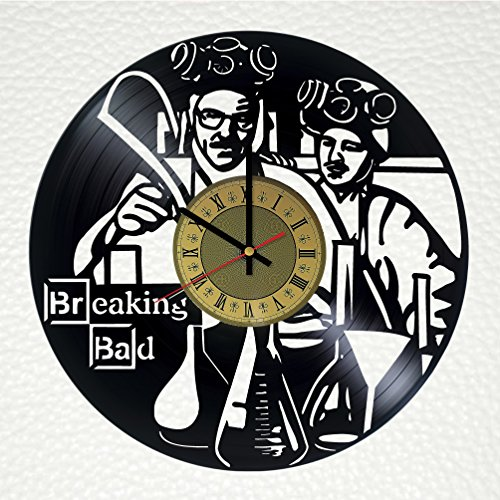 Breaking Bad Vinyl Wall Clock Unique Gifts Living Room Home Decor by Wall Gifts