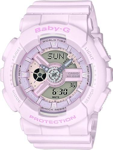 Casio Reloj Analogico-Digital para Mujer de Cuarzo con Correa en Resina BA-110-4A2ER: Amazon.es: Relojes