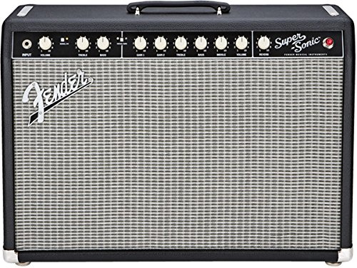 fender super sonic 22 combo electric guitar amplifier by fender at the blues guitar center. Black Bedroom Furniture Sets. Home Design Ideas