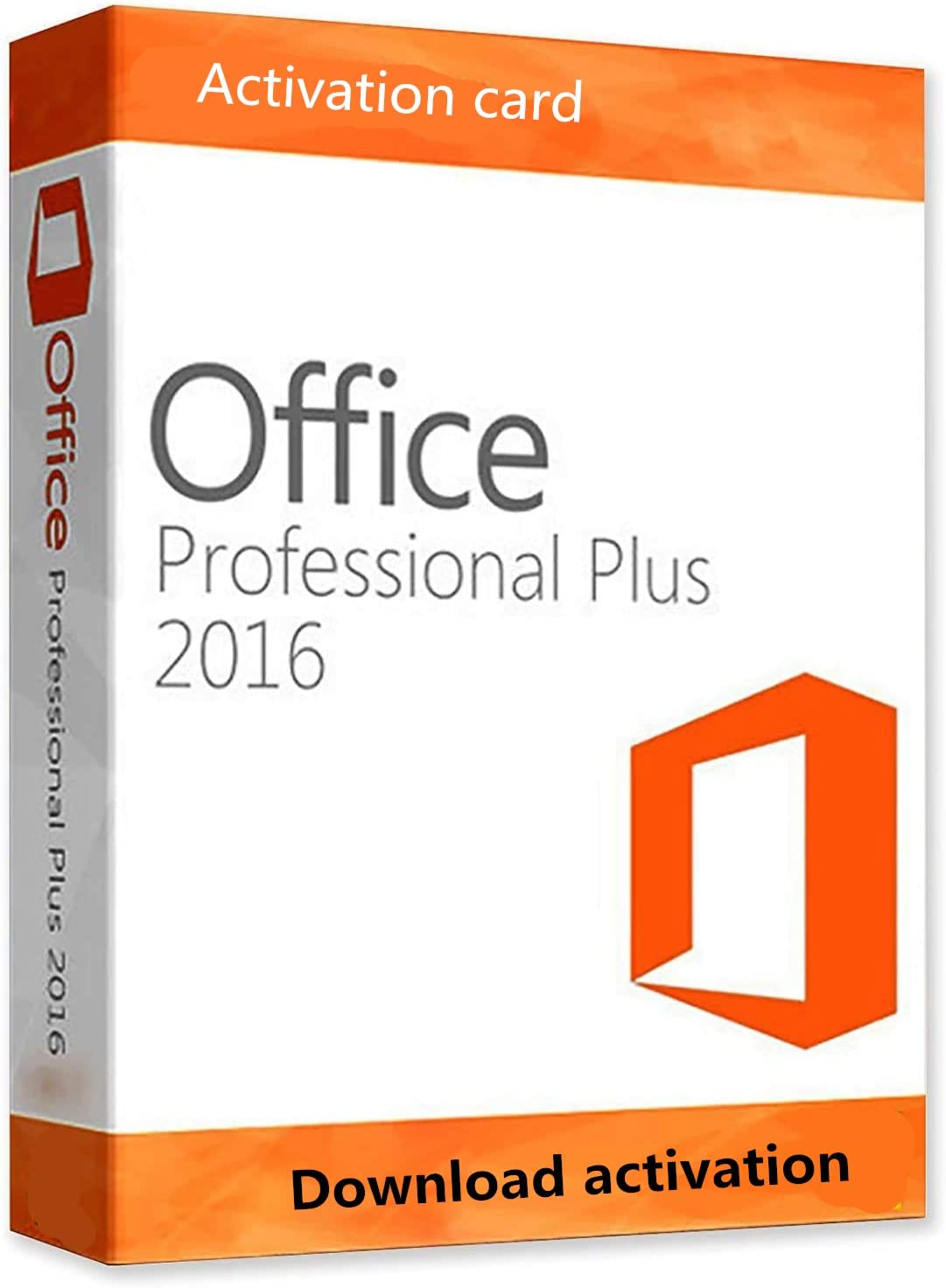 Lifetime Download Card For Office Professional Plus 2016 1 PC