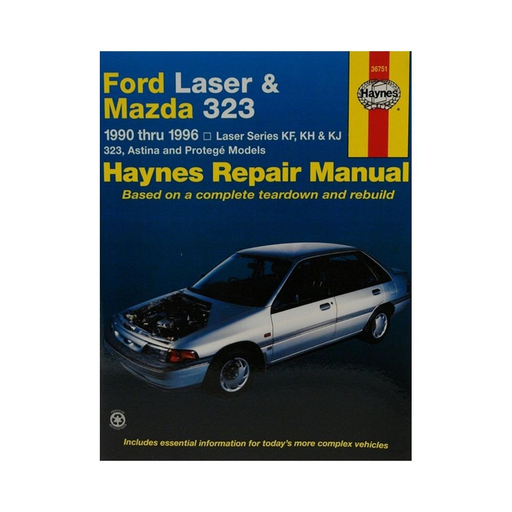 Ford Laser and Mazda 323 Australian Automotive Repair Manual: Ford Laser & Mazda  323 (90 - 96) 1990 to 1996 (Haynes Automotive Repair Manuals): ...