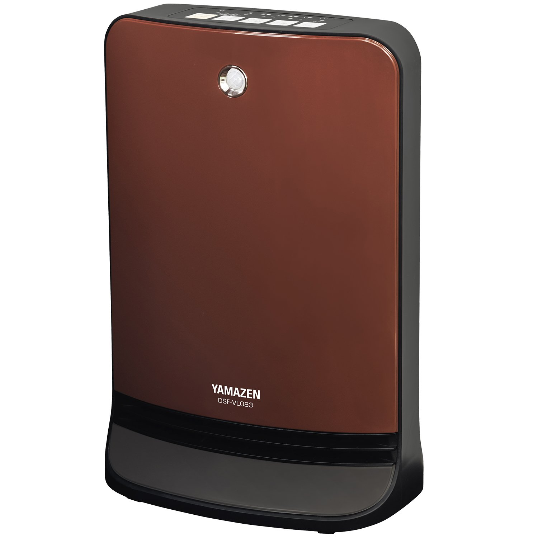 YAMAZEN Deodorize Ceramic Fan Heater (Human Sensor) DSF-VL083-T (Brown)【Japan Domestic genuine products】