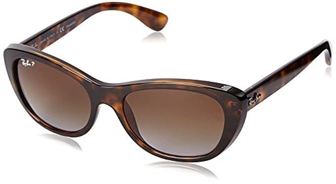 98511e4475 RB RB4227 Sunglasses Light Havana Brown Gradient Polarized 55mm   Carekit