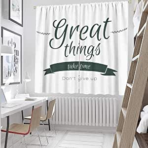 Amazon.com: Dining Room Curtains 84 Inches Long Thing Take ...