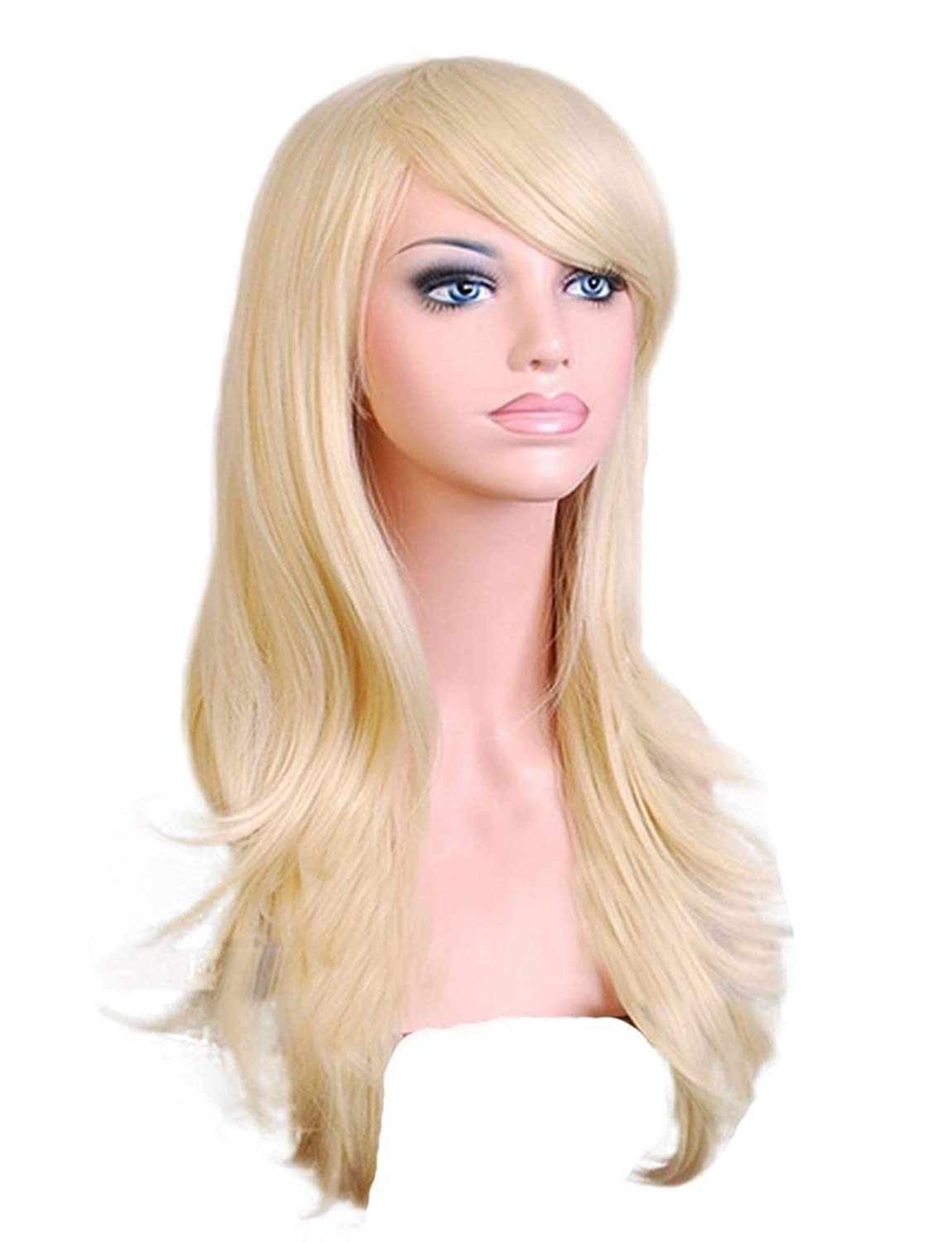 ArRord Long Hair Curls Cosplay Wigs Party Wig Multicolor Available 9 Colors