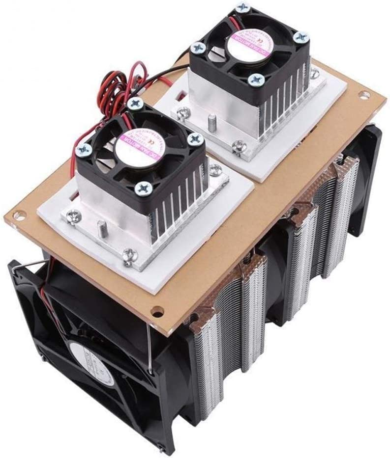 Cooling System Colorer Radiator Dual-core Semiconductor Refrigeration Air Cooling Dehumidification Equipment 144W MDYHJDHYQ