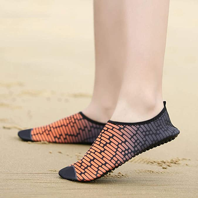 Amazon.com | MENBO Woman Yoga Shoes Quick-Dry Outdoor Beach ...