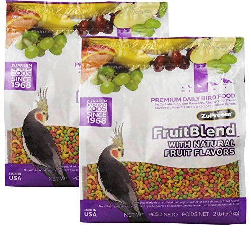 FRUITBLEND WITH NATURAL FRUIT FLAVORS MD PARROT (Pack of 2) by ZuPreem