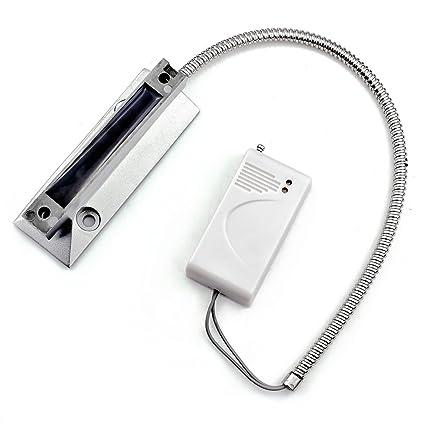 Fuers - Detector de Apertura de Puerta de Garaje o persiana San inalámbrico, magnético Rodillo
