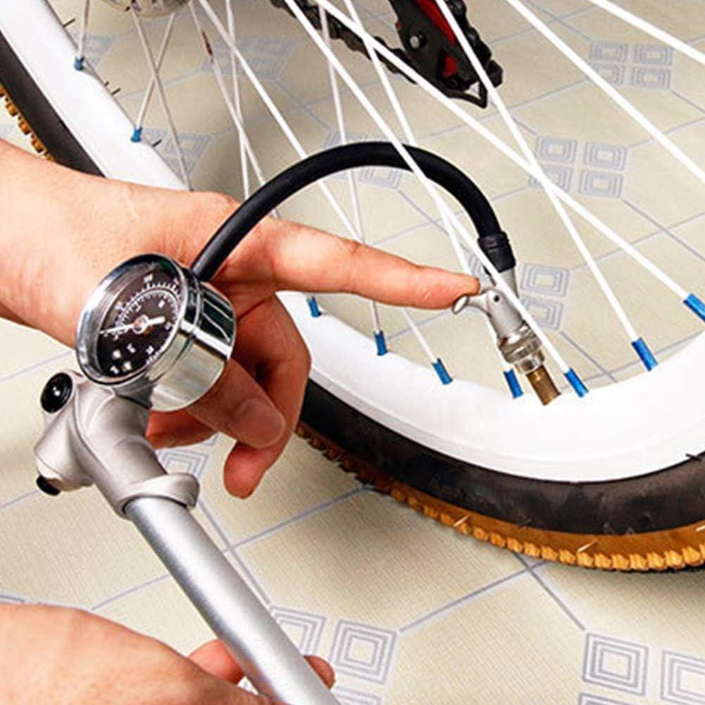 MUTANG Mini Bomba de Bicicleta, Bomba de neumático de Bicicleta ...