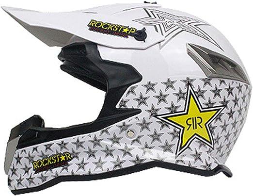 ATEMXI Casco para Adultos Casco de Motocross para Bicicleta de ...