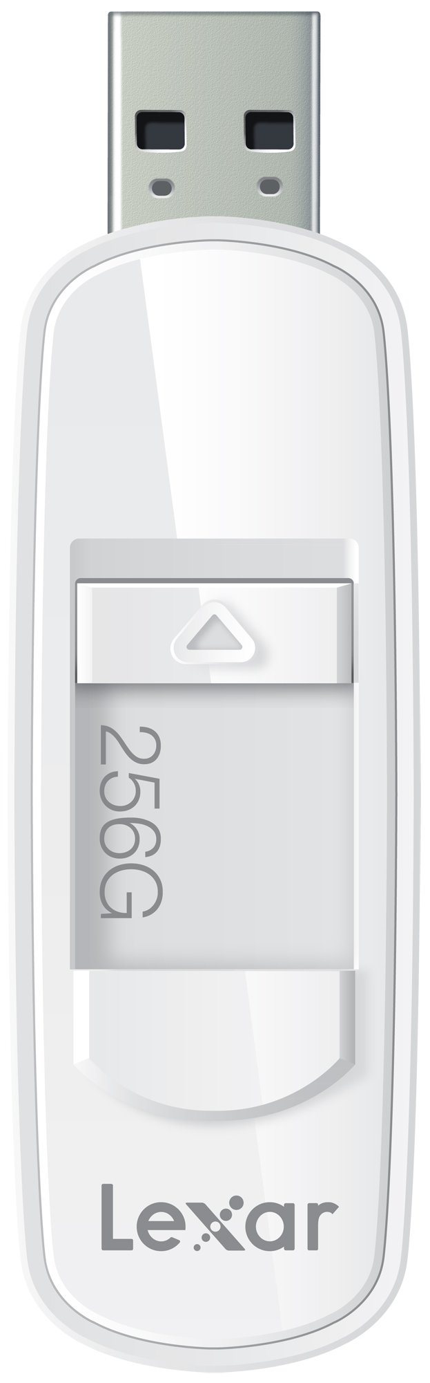 Lexar JumpDrive S75 256GB USB 3.0 Flash Drive - LJDS75-256ABNL (White)