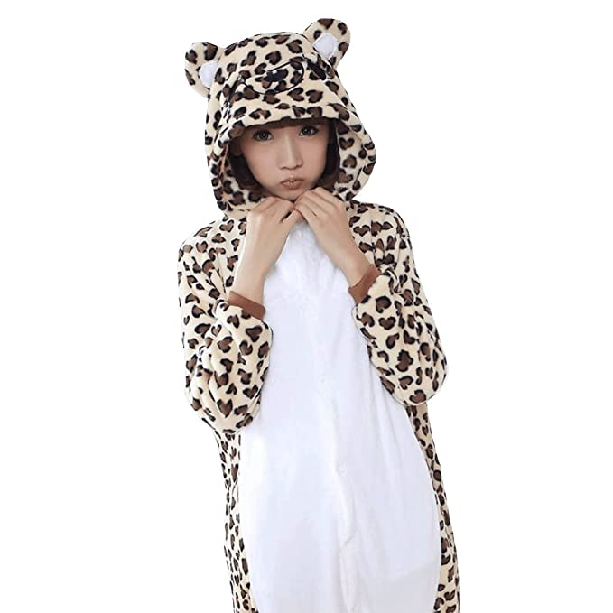 Oudan Pijama Animal de Osito,Flanela,Cosplay de Vestuario, Disfraces,Ropa de