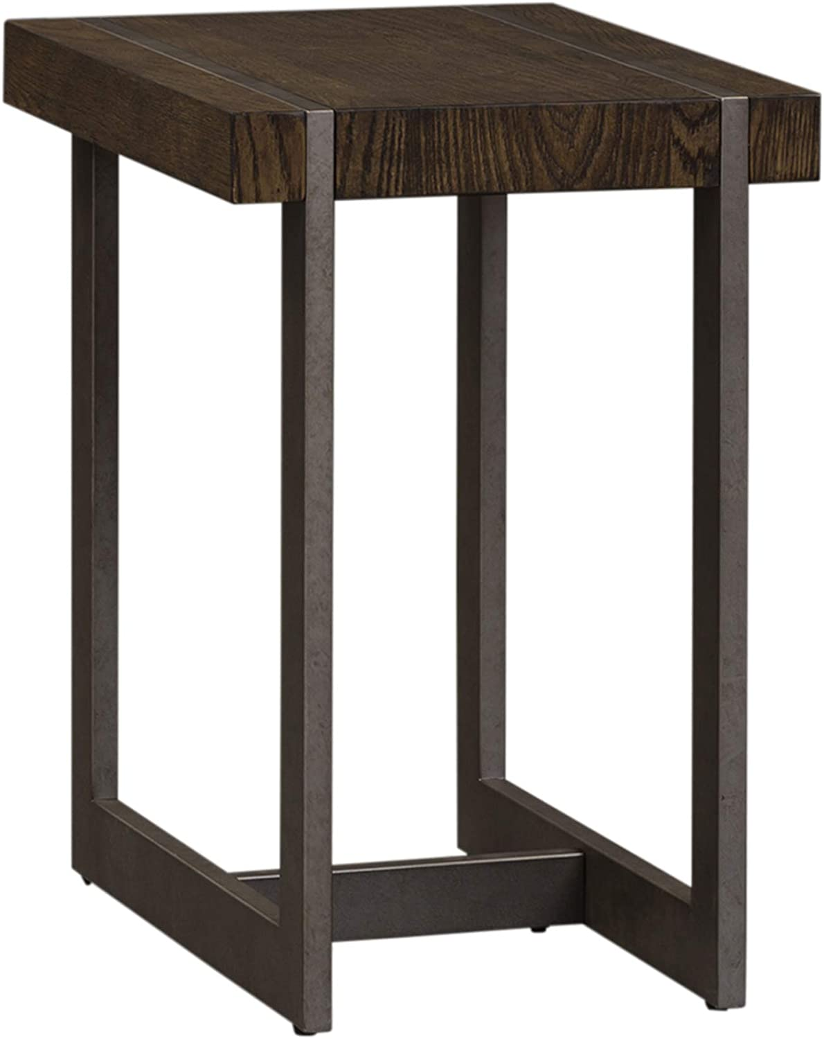 Liberty Furniture Industries Sorrento Valley Chair Side Table, W16 x D24 x H24, Medium Brown
