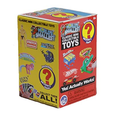 Worlds Smallest Blind Box Series 3 Classic Novelty Toy, 1 Count: Toys & Games