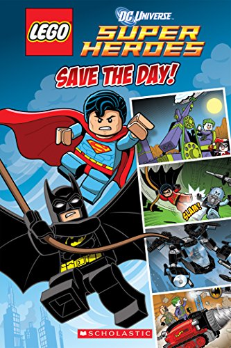Save Day LEGO Super Heroes ebook