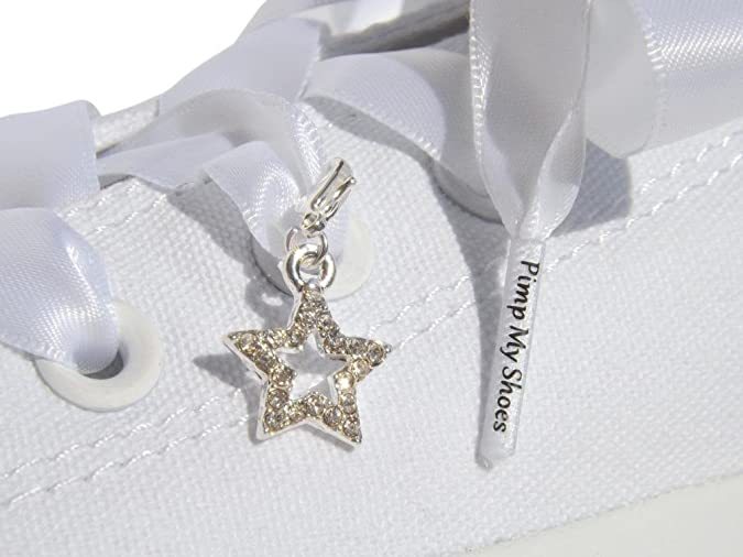 9182d1f48dada Black Flat Satin Ribbon Shoelaces, Shoe Laces For Kids, Youths & Women's  Converse All Star Sneakers