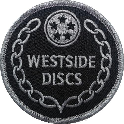 Westside Discs Logo Iron-On Disc Golf Patch
