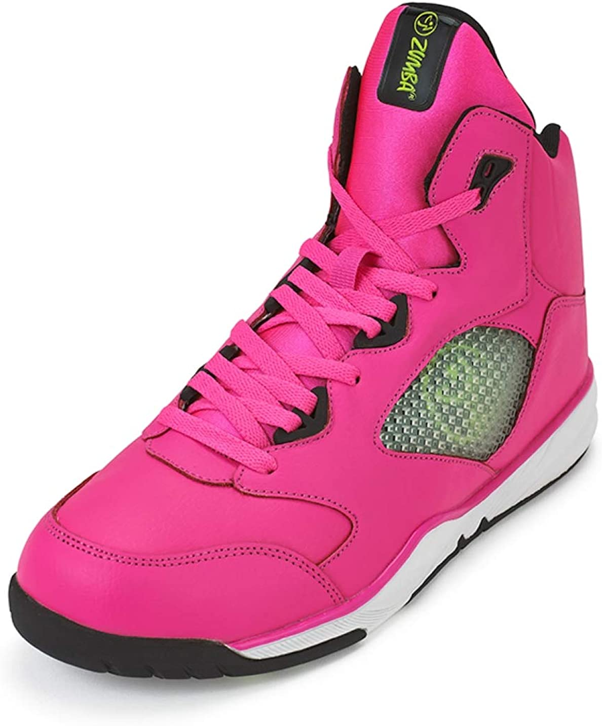 Zumba Fitness Zumba Aktiv Energy Boom High Top Sneakers Tanztraining Workout Tanzschuhe Damen, Zapato de Baile para Mujer