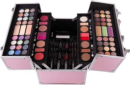 CHSEEO Paleta de Maquillaje Set Paleta de Sombras de Ojos, Juego de Maquillaje Kit de Maquillaje para Mujeres y Niñas Caja de Regalo Cosméticos #8: Amazon.es: Belleza