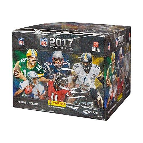 2017 Panini NFL Football Sticker 50ct Box with Album