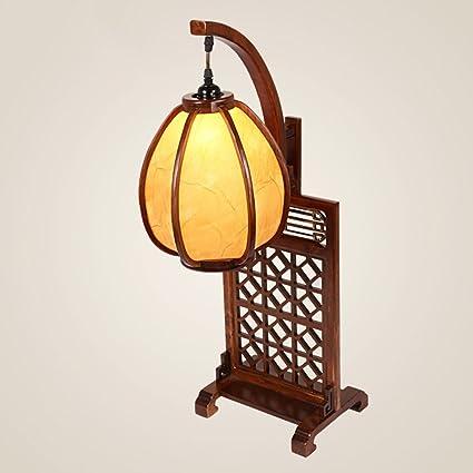 FFLTAIDENG HJHY® Lámpara de Mesa, Estilo Chino Antigüedades ...