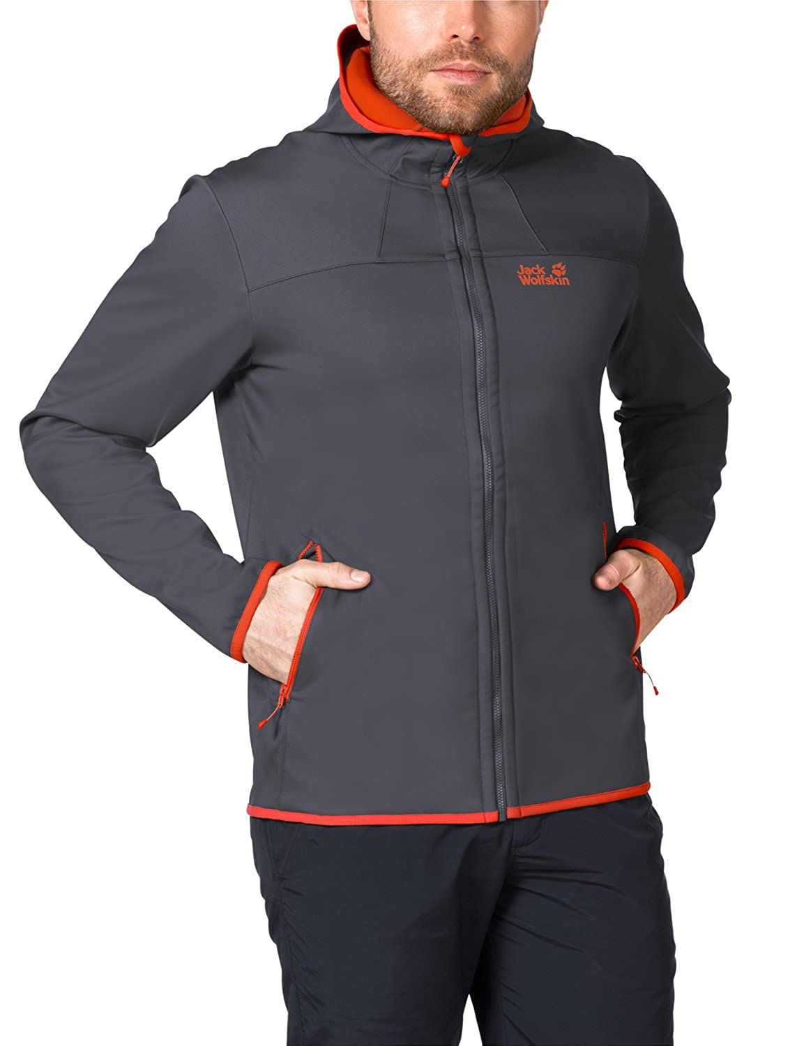 Valley Herren Grand Jack Wolfskin Softshelljacke Softshell y80wmNnvO