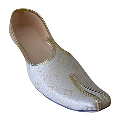 Men's Traditional Indian Silk Casual Shoes