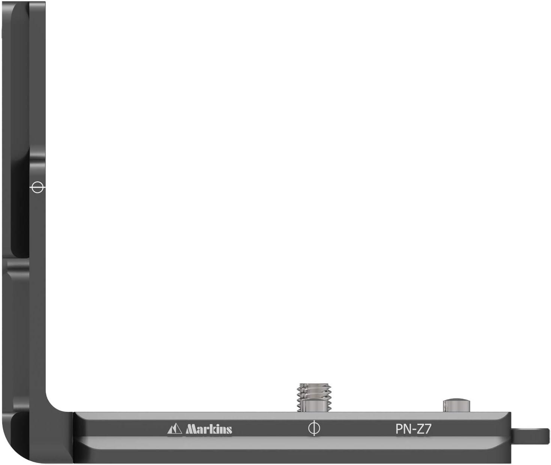 Arca-Swiss Norm Markins Schnellwechselplatte,Kamera L-Winkel Kamerawinkel kompatibel f/ür Nikon Z6 Nikon Z7