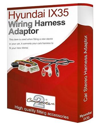 Peachy Hyundai Ix35 Cd Radio Stereo Wiring Harness Adapter Amazon Co Uk Wiring Digital Resources Inamapmognl