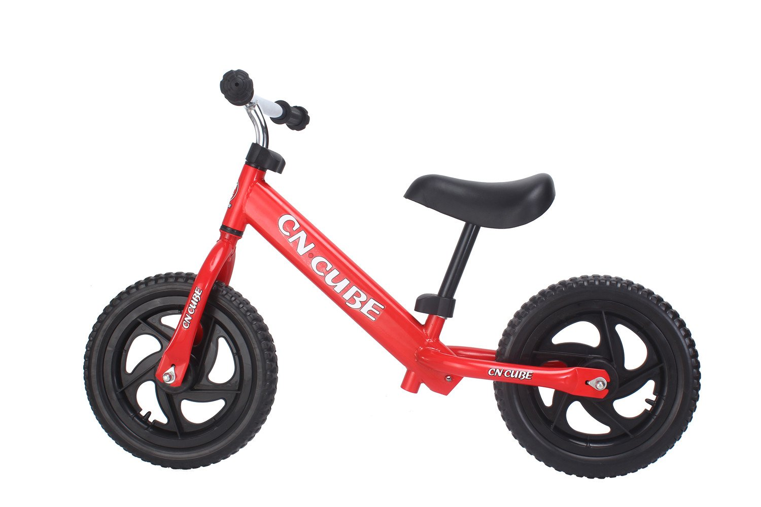 YBL Children's baby two rounds movement Balance Bike for No pedal bicycle Suitable for 2-6 years old Boys girls Carbon Steel Frame Adjustable Handlebar and Seat (red)