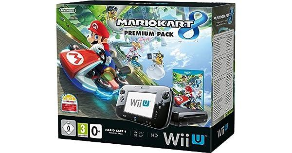 Nintendo Wii U 32GB + Mario Kart 8 Premium - videoconsolas (Wii U ...