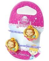 Disney Princesses [H7311] - Paire de barrettes 'Princess Jewels' orange lavande