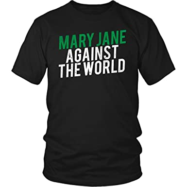 Amazon.com: Mary Jane contra el mundo camisa regalo para ...