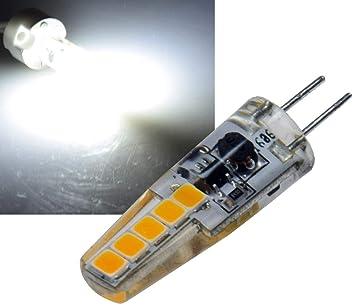 """Bombilla LED con casquillo de patillas G4 """"silicona W2, 4000 K,"""