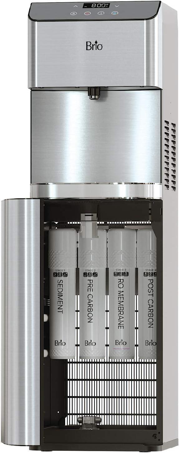 Brio Moderna Reverse Osmosis Bottle-less Water Cooler