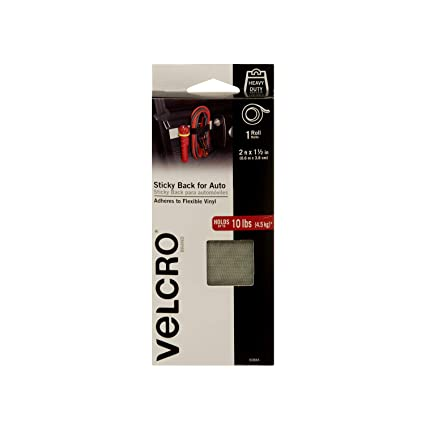 VELCRO Brand Industrial Strength Fasteners | Auto, RV, Boat Adhesive | Heavy Duty Strength